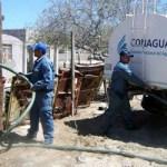 Más de un millón de litros ha distribuido la Comisión Nacional del Agua (CONAGUA) en Baja California Sur para los afectados por la sequía en zonas rurales.