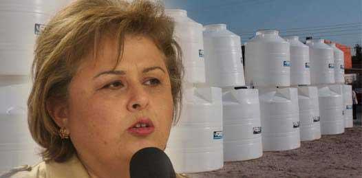 """Ampliación de la red de agua potable, """"no un tinaco"""", demandan en la Navarro Rubio"""