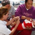 La campaña masiva de vacunación infantil estará vigente del 25 de febrero al 2 de marzo.