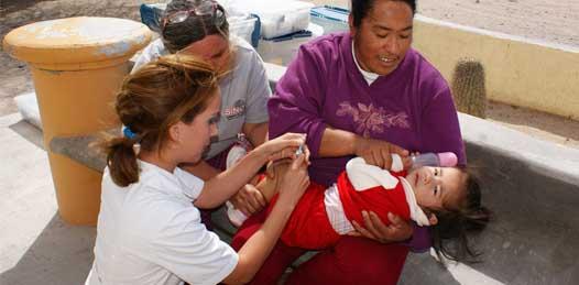 Ya hay vacunas, aproveche la semana de inmunización