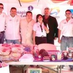 Exitosa la participación de cabeños en el Festival de la Ballena que se realiza en el puerto de López Mateos.