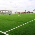 Lo que durante muchos años era un anhelo de niños y jóvenes que semanalmente acuden a dicha instalación deportiva para practicar el fútbol, ahora es una realidad.