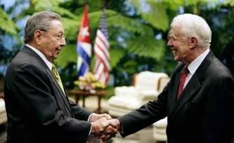 Se reúne Raúl Castro con  senadores de EU