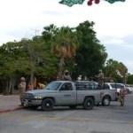El Gobernador Marcos Covarrubias y el alcalde Antonio Agúndez entregaron cuartel a la SEDENA.