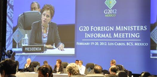 Realizan en Los Cabos la primer reunión informal de cancilleres del G20