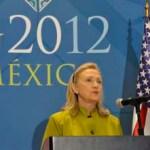 Clinton aseveró que se han logrado avances, pero aún queda mucho por hacer ante estos carteles violentos, que en conjunto y gracias al liderazgo del gobierno mexicano, han logrado la desarticulación de una buena parte de los líderes de los mismos.