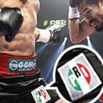 El Consejo General del IFE multó a Márquez con 29 mil 910 pesos por exhibir en sus calzoncillos el logotipo del PRI durante su pelea con el filipino Manny Pacquiao, el 12 de noviembre, víspera de las elecciones en Michoacán.