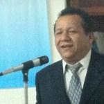 """El doctor Josué Estrada al asumir la sección La Paz de El Colegio de Médicos de Baja California Sur dio un """"no"""" a la Minera La Pitalla."""