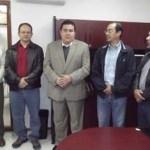 El M. en C. Gustavo Rodolfo Cruz Chávez, Rector de la UABCS, dio posesión al Dr. Juan Manuel Ramírez Orduña como Jefe del Departamento Académico de Zootecnia, y al M. en C. Alejandro Gómez Gallardo como Jefe del Departamento Académico de Biología Marina.