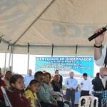 El Gobernador Marcos Covarrubias comprometió todo su empeño para hacer que la región pacífico norte logre un desarrollo social y económico ordenado.
