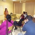 Imparten taller sobre las funciones básicas del oficio editorial al personal del Departamento Editorial y del Taller de Artes Gráficas de la UABCS.