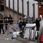 """El presidente francés, Nicolas Sarkozy, afirmó desde la escuela judía que fue tiroteada hoy en Toulouse que Francia no cederá al terror y que """"el odio no puede ganar""""."""