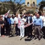 Con un estado de fuerza de 700 personas y 190 unidades, la mañana del lunes 2 de abril, frente al Palacio Municipal en San José del Cabo, se dio el banderazo de arranque del Operativo Semana Santa 2012.