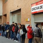 España: más de cinco millones y medio de desempleados