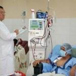 La UNEME registra ciento diez enfermos renales, de los cuales, el setenta por ciento son candidatos a trasplante de riñón, es decir setenta y siete.
