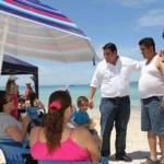 Acompañado también del candidato a diputado federal por el distrito 02, Oscar Francisco Martínez Mora, así como de integrantes de la coordinación de campaña de Enrique Peña Nieto, Barroso reiteró que esta campaña será de mucho contacto con la gente.