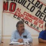 """Francisco Javier Salgado hizo un llamado a los trabajadores a no asistir a este evento de """"charros institucionales""""."""