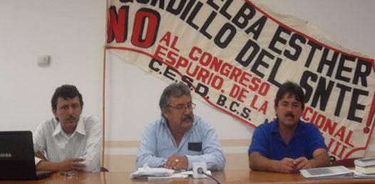 A no asistir al 8vo. Congreso Seccional del SNTE convoca el Comité Democrático