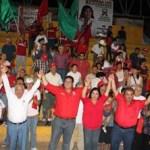 Isaías González agradeció las muestras de apoyo de los muleginos y aseguró que de ganar la elección del primero de julio, se convertirá en un aliado que vigile y exija tarifas justas en el servicio del agua potable en cada uno de los municipios de la entidad.
