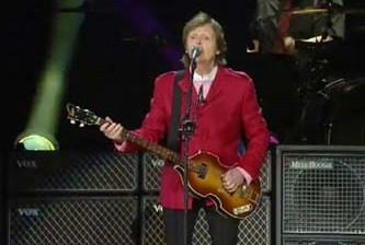 Reventó McCartney el Zócalo