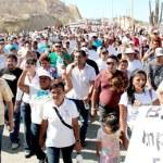 La marcha en solidaridad con el ex- gobernador concluyó con un llamado a todos estar informados y pendientes de lo acontezca, así también se fue claro que las manifestaciones continuarán porque es un derecho de la ciudadanía, a expresarse libremente.