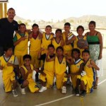 Estos estudiantes, que son entrenados de manera específica por el Prof. Gonzalo Cuevas, obtuvieron, en mayo pasado, el primer lugar a nivel estatal, luego de participar en el Encuentro Estatal de Basquetball realizado en la comunidad de Todos Santos, donde participaron los cinco municipios.