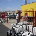 El Mayor Marín puntualizó que una vez que termine la concentración de las boletas, resguardarán su traslado hasta las afueras de la ciudad, donde harán relevo con la Policía Federal, encargados de acompañarlos en su camino hacia la ciudad de La Paz.