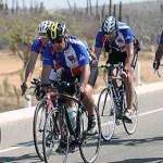 Calderón Hinojosa participó en la modalidad de 85 kilómetros, contabilizados desde el malecón paceño hasta la meta intermedia en la comunidad de Todos Santos, con un tiempo de 3 horas con 7 minutos.