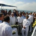 Con la entrega de reconocimientos a los hombres de mar, a quienes han dedicado su vida al trabajo en el y al cuidado y la preservación de las especies marinas, la Secretaría de Marina Armada de México, a través del Sector Naval Los Cabos, llevó a cabo la ceremonia de conmemoración por el 95 aniversario.