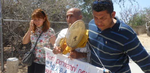 """""""El PAN es un partido humanista"""", respondió Herminio Corral Estrada, presidente del Comité Estatal panista,  a los cuestionamientos por las represiones de las manifestaciones realizadas por diversos grupos durante el G20."""