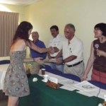 """La UABCS clausuró el Programa de Movilidad Estudiantil 2012-I, el pasado 31 de mayo de 2012, en el aula """"A"""" del Edificio Gemelo Norte."""