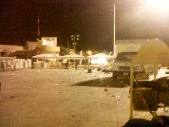 Incumplen partidos con reglamento, dejan la plaza León Cota hecha un muladar