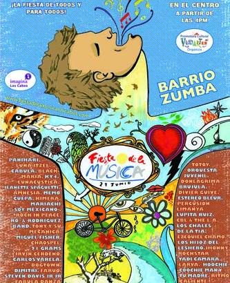 Cancela Natalia Lafourcade presentación en La Fiesta de la Música 2012