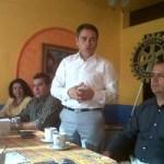 Oscar Núñez informó que están trabajando en la consolidación de otros proyectos importantes para el municipio, como el que ya está en puerta y que es la ampliación de un área en la escuela de Educación Especial, misma que será una aportación directa y un apoyo compartido con algunos clubes del extranjero.