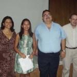Ilse Estela Reyes Medina, egresada de la carrera de Biología Marina de la UABCS, realizó un análisis genético poblacional para la reforestación del mangle rojo en Bahía Magdalena.