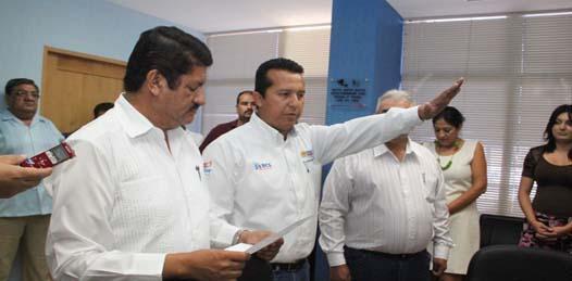 Salvador Adrián Pérez es el nuevo secretario de Planeación Urbana, Infraestructura y Ecología