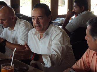 """""""El presupuesto que existe para manejar el Centro de Convenciones anualmente son 350 mil dólares, aparte de pagar agua, luz, teléfono y todo lo demás"""", Héctor Alfaro Bejar, director regional de Fonatur BCS."""