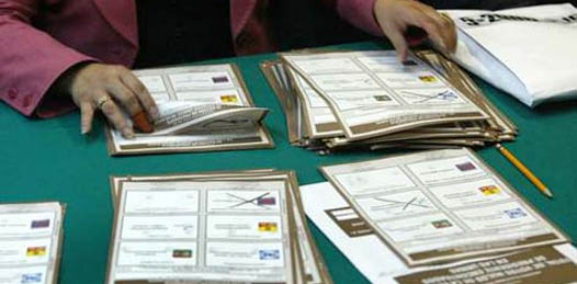 Sólo veinte casillas se han contabilizado en el estado y un paquete electoral ha sido recibido por el Instituto Federal Electoral (IFE).