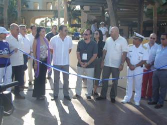 Correspondió a Sergio Igartua, organizador del evento, dar la bienvenida a las autoridades asistentes, manifestando que la finalidad de éste evento es posicionar a Los Cabos, en aproximadamente cinco años, como el primer mercado de productos y servicios enfocados a la industria náutica en el país.