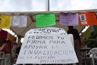 Las marchas, sin efecto en fallos: TEPJF
