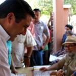 Los candidatos del Partido Revolucionario Institucional (PRI) al senado de la república, Ricardo Barroso Agramont e Isaías González Cuevas, se dijeron ganadores la noche del primero de julio en el hotel Araiza, señalando que los resultados de las candidaturas de los diputados son inciertos, pero que la tendencia los favorece.
