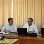 El Dr. Enrique Gutiérrez López, Vocal Ejecutivo del Comité de Administración y Gestión Institucional de CIEES, aseguró que la UABCS cuenta con todas las condiciones para ser una de las mejores del país, durante el Seminario-taller para la autoevaluación y seguimiento de la evaluación diagnóstica.