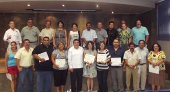 En la UABCS se llevó a cabo la entrega de reconocimientos del Programa de Mejoramiento del Profesorado (PROMEP).