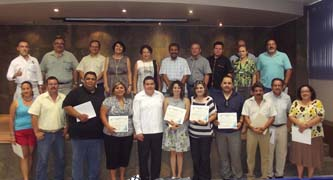 Entregó el Rector de la UABCS al personal docente reconocimientos PROMEP
