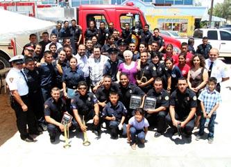 Celebraron su día bomberos de CSL