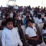 """""""En Los Cabos estamos hablando que iniciarán el ciclo una tercera parte de los estudiantes del estado, es decir, unos 75 mil alumnos de todos los niveles y modalidades, el otro tercio en la ciudad de La Paz y el resto entre Comondú, Loreto y Mulegé"""", manifestó Espinoza Aguilar."""