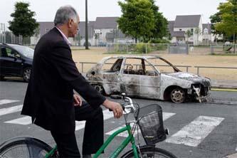La calma regresó este miércoles a la ciudad francesa de Amiens, luego de los disturbios ocurridos por la madrugada del martes.