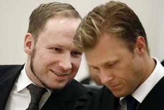 Condenan al asesino Breivik a 21 años