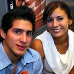 Paola Espinosa y Rommel Pacheco.