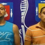 Héctor Alan Holguín Agruel y Jesús Abed Jordán Talamantes.